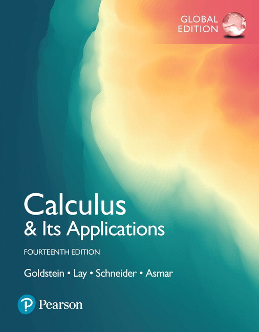 Calculus & Its Applications, Global Edition, 14th Edition