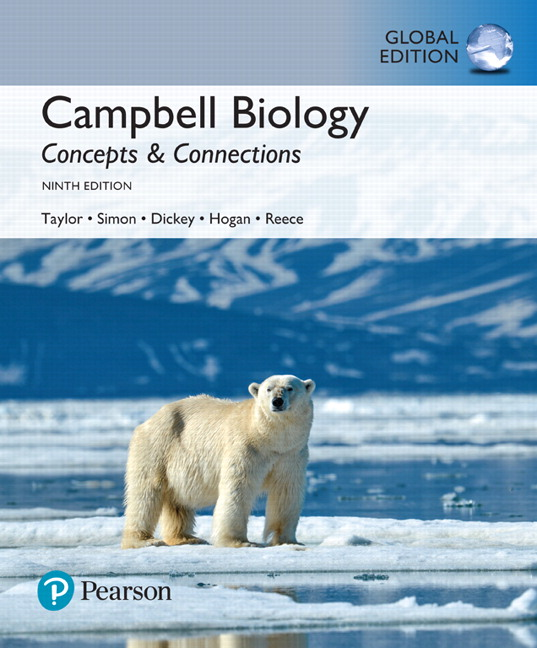 Campbell Biology: Concepts & Connections, Global Edition, 9th Edition