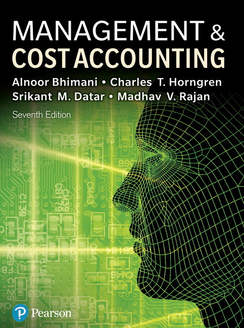Management and Cost Accounting, 7th Edition