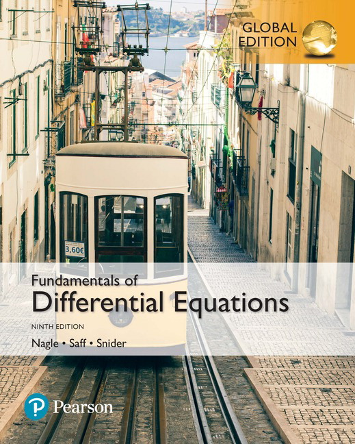 Fundamentals of Differential Equations, Global Edition, 9th Edition