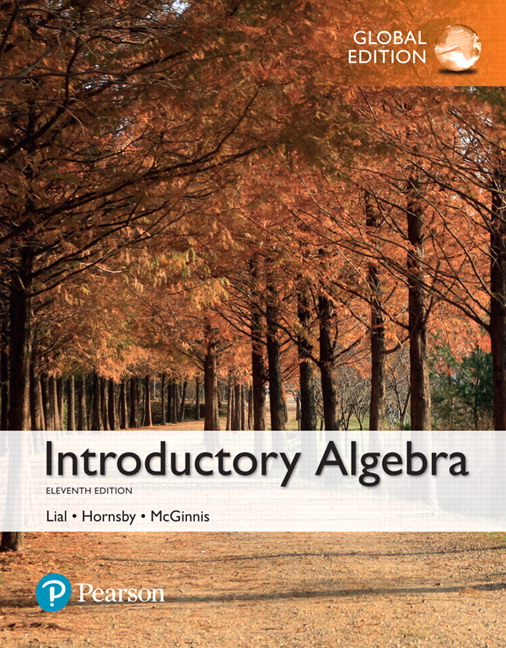 Introductory Algebra, Global Edition, 11th Edition
