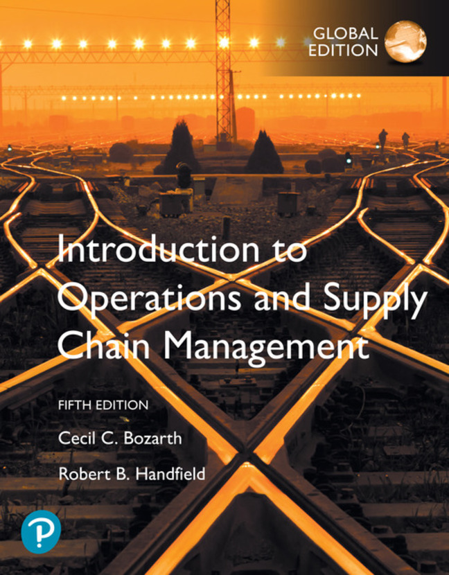 Introduction to Operations and Supply Chain Management plus Pearson MyLab Operations Management with Pearson eText, Global Edition, 5th Edition