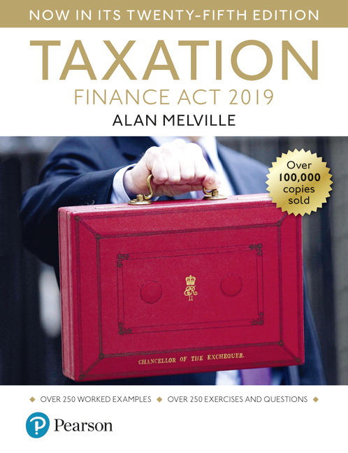 Melville's Taxation: Finance Act 2019, 25th Edition
