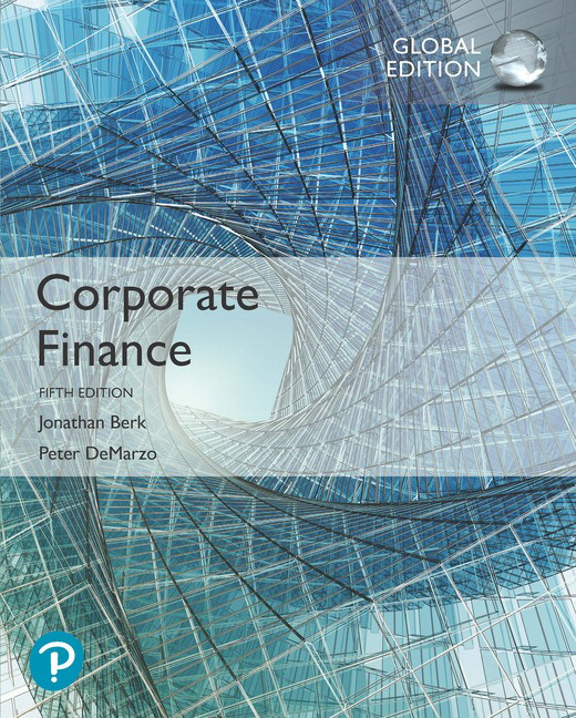 Corporate Finance, Global Edition, 5th Edition