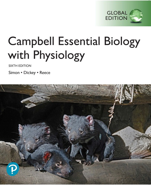 Campbell Essential Biology with Physiology, Global Edition, 6th Edition