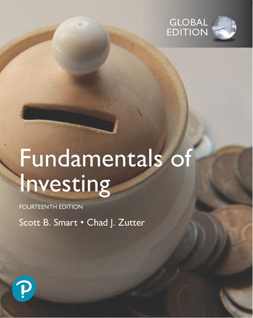 Fundamentals of Investing, Global Edition, 14th Edition
