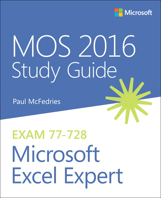 mos 2016 study guide for microsoft excel expert pdf
