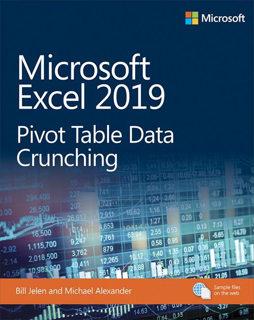 Microsoft Excel 2019 Pivot Table Data Crunching