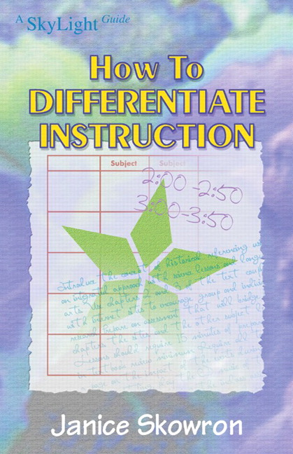 Tomlinson How To Differentiate Instruction In Mixed Ability